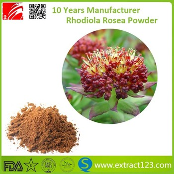 Manufacturer Supply Powder Extract Rhodiola Rosea