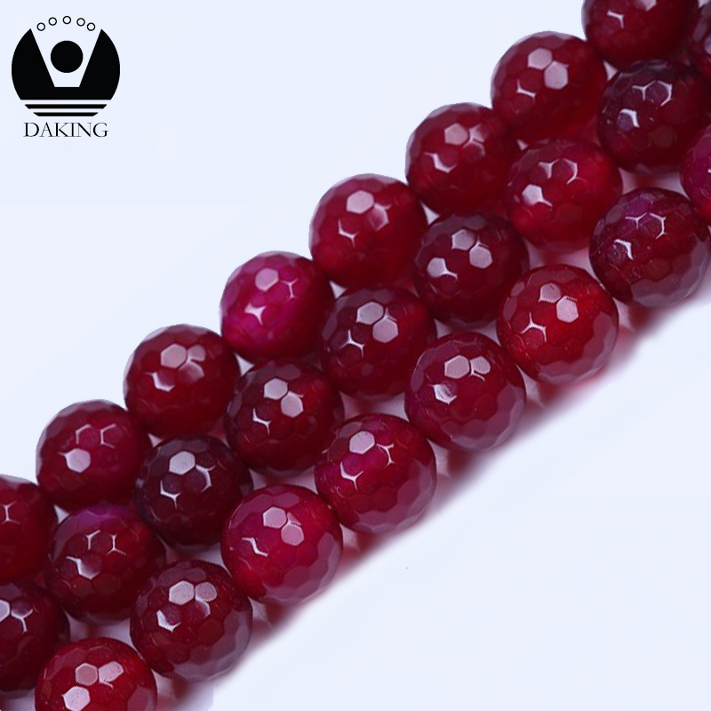 10 mm faceted semi precious round stone beads natural beads for jewelry making