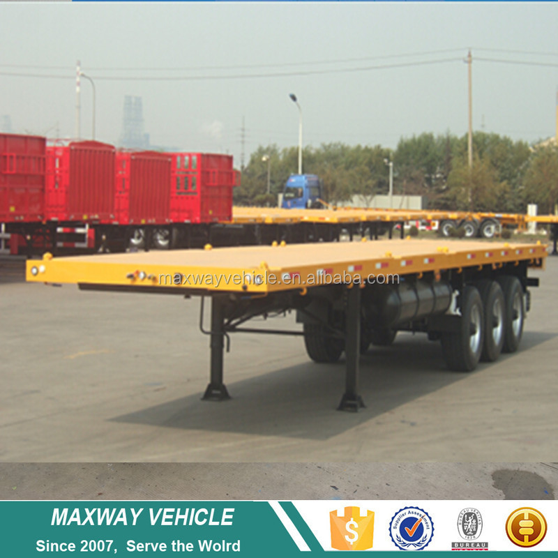 Factory Cheap Price Flat Bed Semi