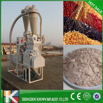 Corn/maize flour milling machine/ High quality wheat corn flour making mill machine