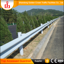 New Eco-friendly temporary fence panel galvanized steel guardrail roadside guardrails
