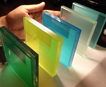 Special Colorful Laminated Glass