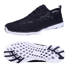 Wholesale Quick-Dry Breathable Men Mesh Walk On Water Shoes