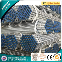 Plastic caps steel galvanized pipe hot dipped galvanized gi steel pipe for greenhouse made in China