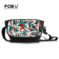 A001N2 colorful body 13'laptop messenger bag for boy street dancing