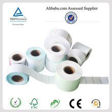 2014 High quality self adhesive paper stock for zebra, CAS with cheap price