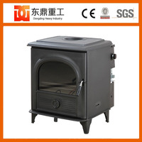 Chinese style decorative cast iron stove/godin cast iron wood stove with good qulaity