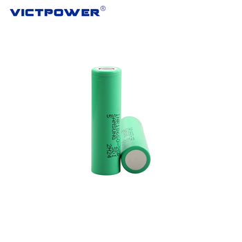 2500mAh 3.6V INR18650-25R Rechargeable Lithium ion battery for power supply