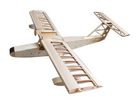 Balsa Wood RC Airplane Model Miss.Orleans KIT 1.6M Seaplane For Gas Power and Electric Power Only KIT Without Covering