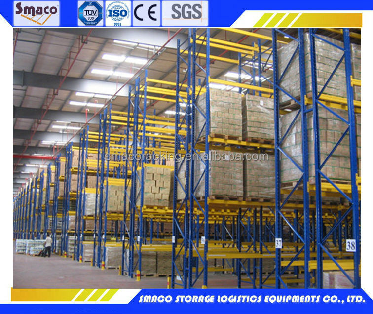 High-quality Powder Coating Q235B STEEL Industrial Pallet Racking (1100L*1200D*150Hmm)