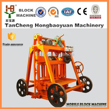 QT40-3 manual type concrete masonry units making machine
