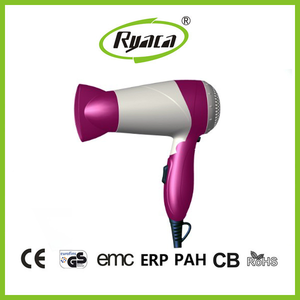 Wholesale best 2 speed ionic styler hair dryer Hotel classical foldable travel hair dryer BY-516