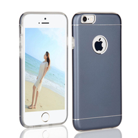 Customize metal bumper case for i phone 6s ,dual layer aluminum tpu back cover case for i phone 6s
