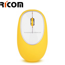wireless soft touch crush resistance silicon gel mouse--Shenzhen Ricom