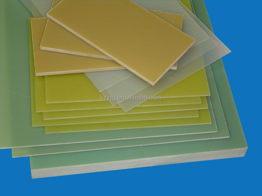 Fr4 Electrical materials Epoxy epoxy glass laminate sheet for insulation parts 0.8mm