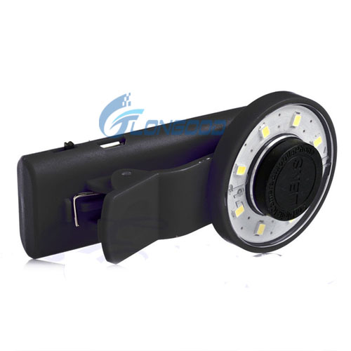 2016 Fashion LED Selfie Ring Light Brightness LED Clip On for Iphone