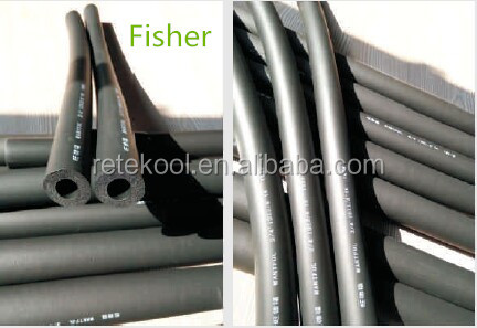 2015 China High Quality PVC/NBR Black Rubber Foam Insulation Pipe