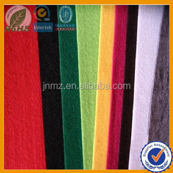 Color 100% Polyester felt