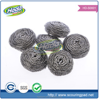 new household products 0.13-0.22mm cleaning ball metal ball metal sponge metal scourer