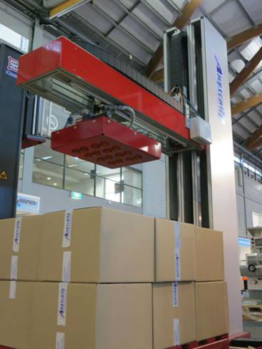 Palletiser - MLP-12 - Fully automatic and compact