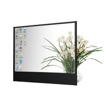 17 inch transparent flexible lcd display panel screen for showcase