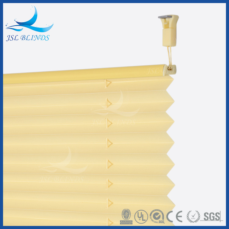 Various Size Available Customized Handmade Paper Pleated Plissee Curtains