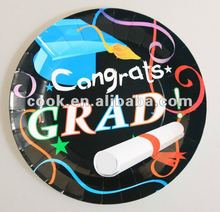 Congrats Grad kids party supply Paper Plates/dinner plate