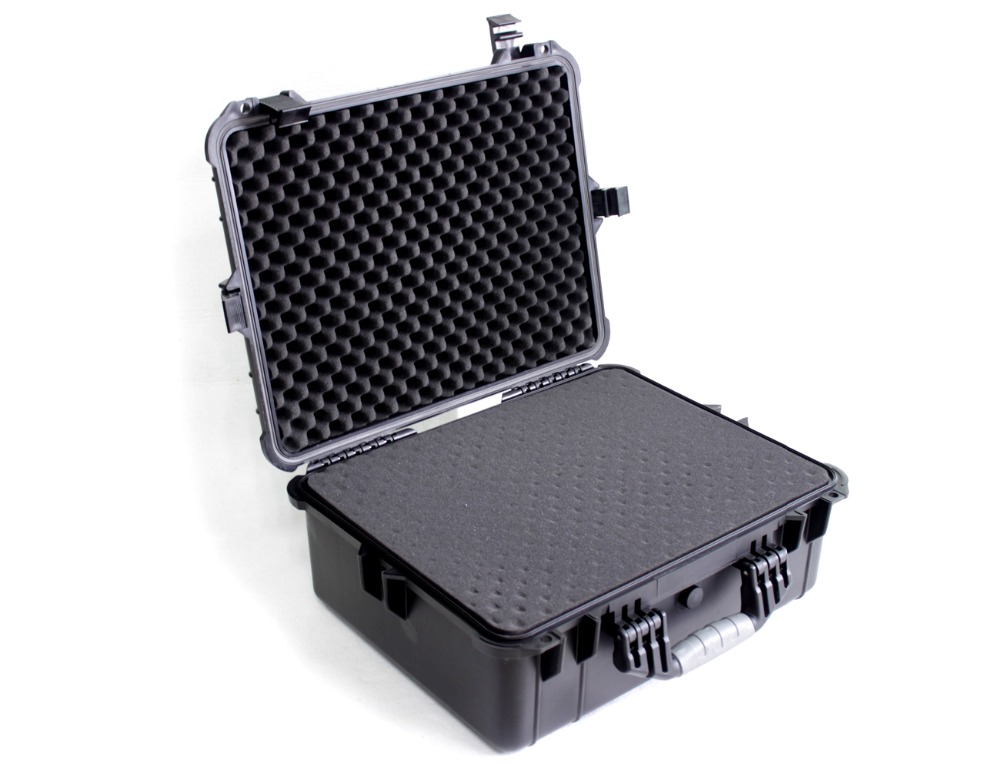 Instrument protection case with foam