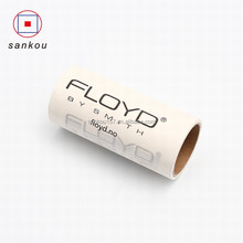 Sankou dry cleaning sticky paper roll colorful japanese style lint roller