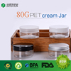 custom logo size pp plastic caps bulk wholesaler empty clear cosmetic jars 100g 120g 150g 200g 250g 300g 400g 500g pet cream jar