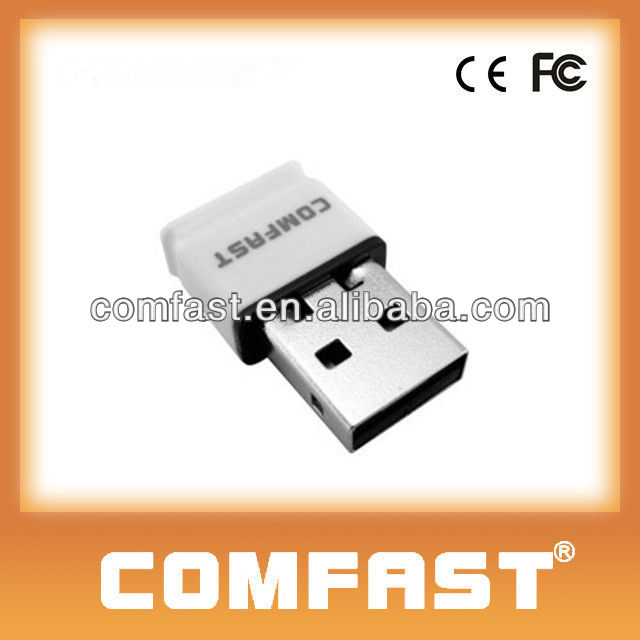 150Mbps High Sensitivity Mini Wifi 802.11n USB Adapter Free Link Wireless USB Adapter High Power USB Lan Adapter CF-WU815N