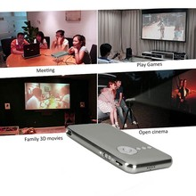 1080HP 8G mini portable projector with miracast function smartphone projector