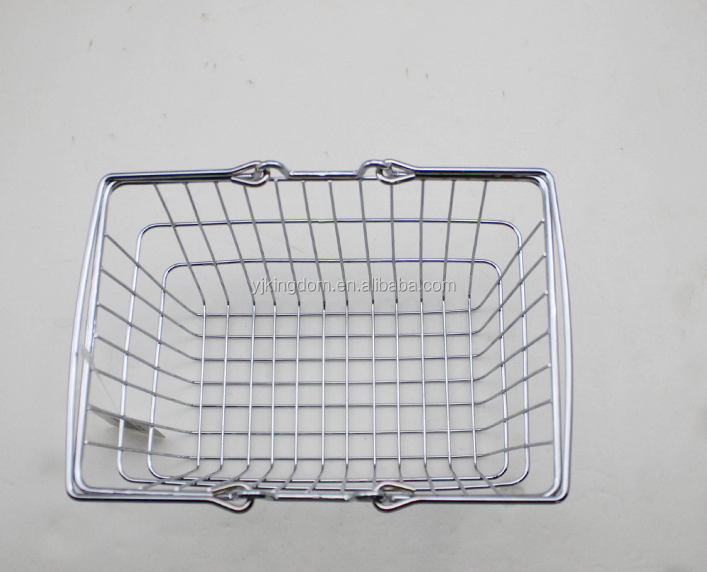 547-64 Metal Wire Mini Shopping Hanging basket