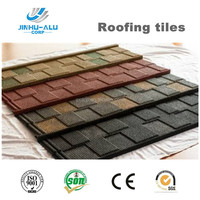 Good price shingle type of stone coated metal roofing tiles JH04