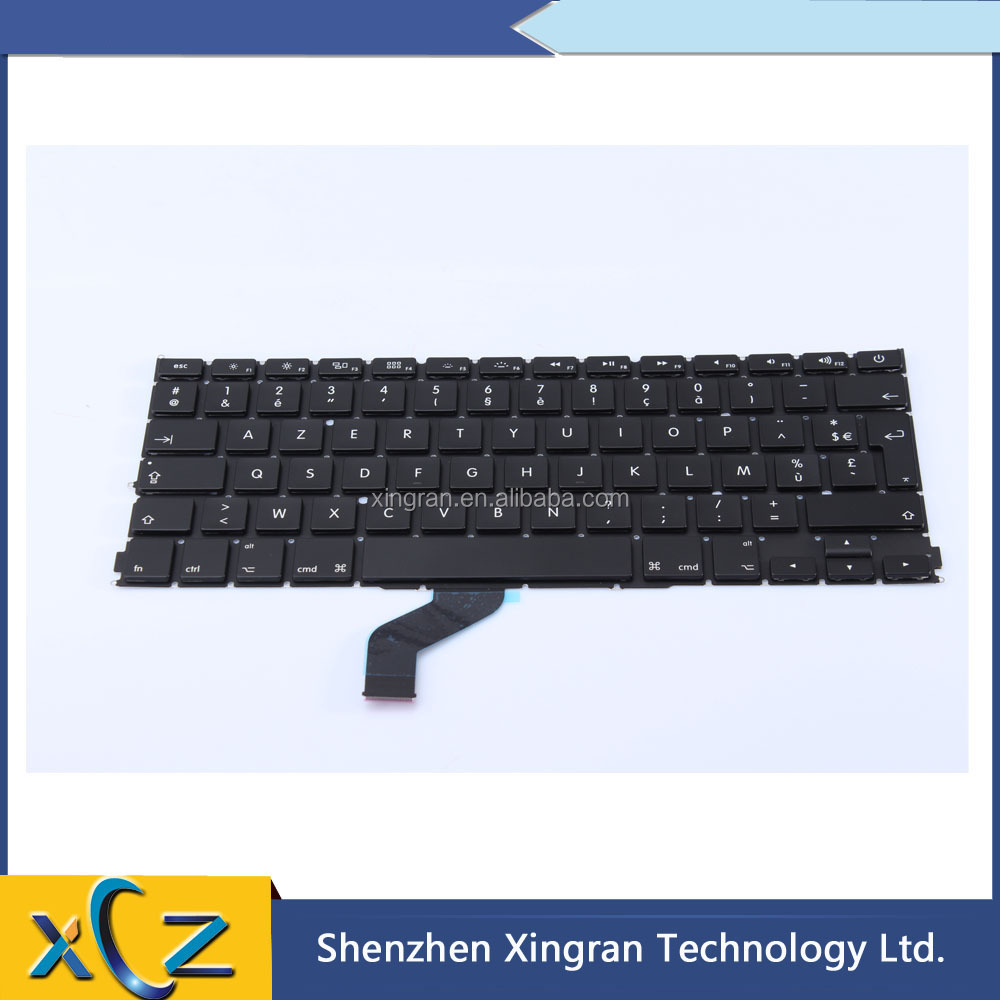 "Brand New For MacBook Pro Retina 13"" A1425 AZERTY FR French Keyboard clavier 2012 Year"