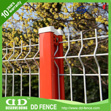 Weld Mesh Fencing Panel / 3D Fold Wire Mesh Fence / Pvc Coated Wire Fencing