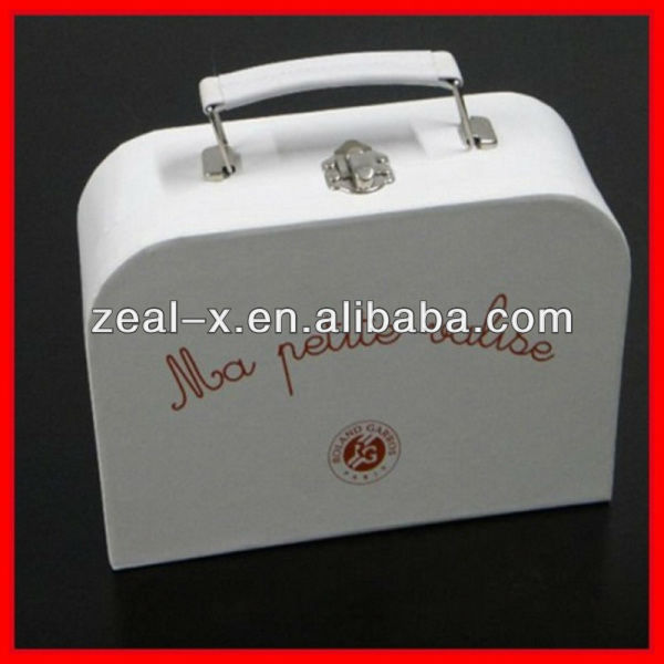 Suit case Gift box with metal handle