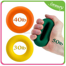 kids exercise equipment , colorful hand grip ,H0T025 colorful silicone hand grip