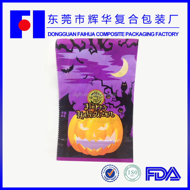 2015 halloween embroider china bird promotional in bulk plastic packaging bag