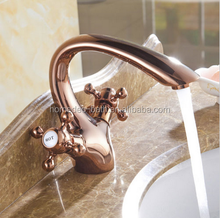 Rose Golden Basin Faucet/Bath Faucet Sanitary Ware products