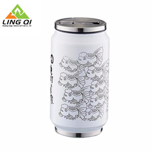Wholesale High Quality Logo Transfer Printing Electric Heated Auto Mug Cup