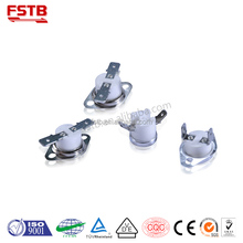 Foshan tongbao KSD301 bimetal iron thermostat for steam iron parts