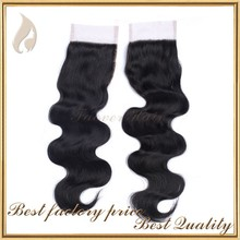 Best selling products brazilian closure hair light brown lace closure