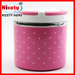 NICETY stainless steel preserving kitchen container with lid