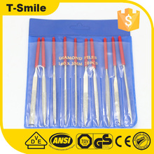 10 Pcs High Quality Diamond Hand Tools Files Set