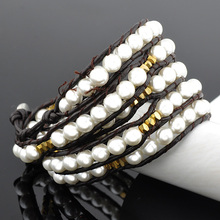 2017 wholesale factory hot sell pearl jewelry women bracelet latest fashion trends