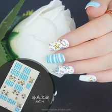Newair wholesale korea nail sticker designs, nail art foil sticker
