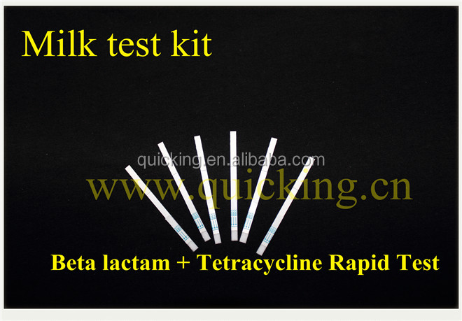 Quicking Antibiotic Residues Detection in milk Beta lactam+Tetracycline test - BETA+TET Test