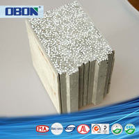 Fireproof cement polystyrene EPS sandwich panel for sale