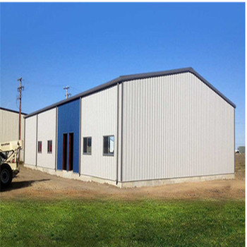 Prefabricated light steel frame insulated structural warehouse